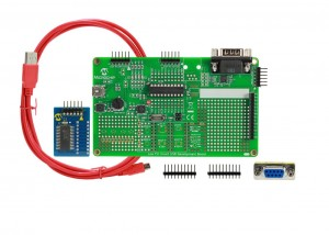 USB Low Pin Count demo board (DM164127-2)