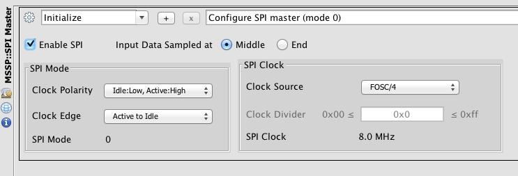 SPI Master (mode 0)